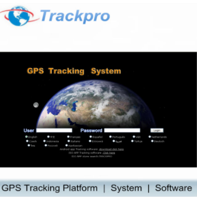 vehicle gps tracking software platform system